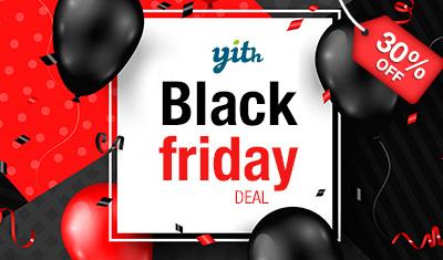 Black Friday 30% off – Details