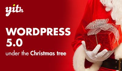 WordPress 5.0 under the Christmas tree