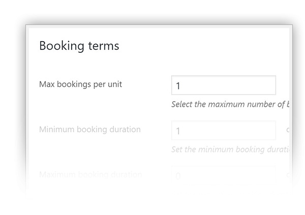 af43e1f308d By setting a maximum number of bookings that can be accepted for the same  date for the same product