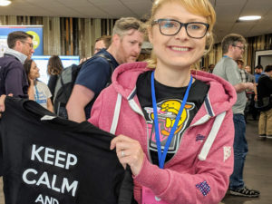 keepcalmandclearcache t-shirt