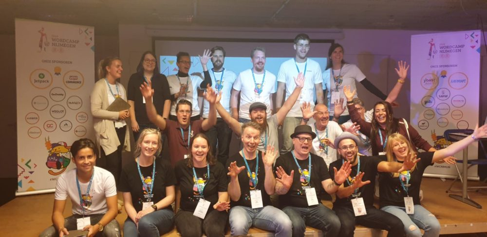 WordCamp Nijmegen organising team