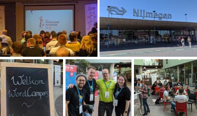 We did it! We attended WordCamp Nijmegen!