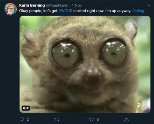 tweet by Karin