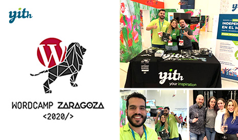 WordCamp Zaragoza 2020: Second year as sponsors in the capital of Aragon