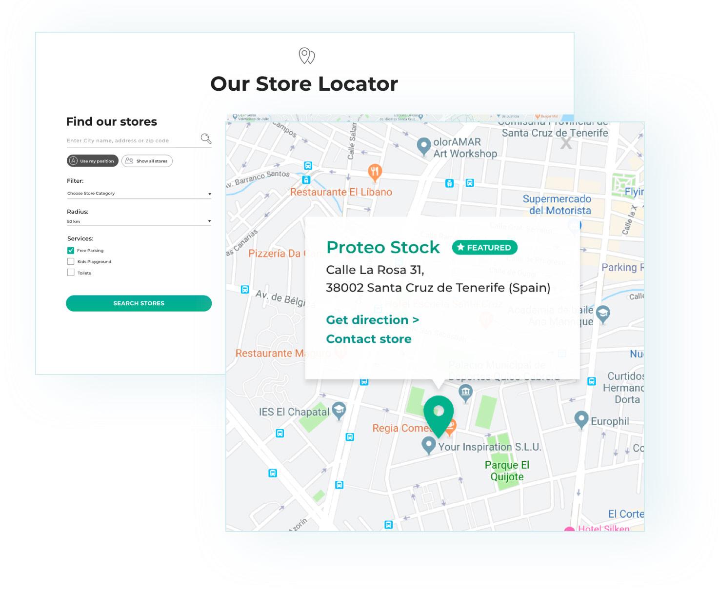 Store locator plugin