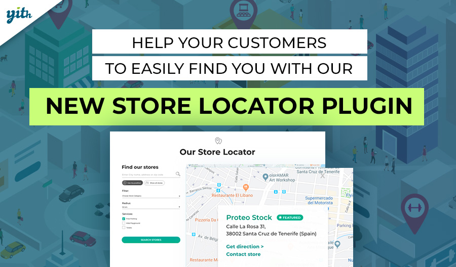 Help your customers to easily find you with our new Store Locator plugin