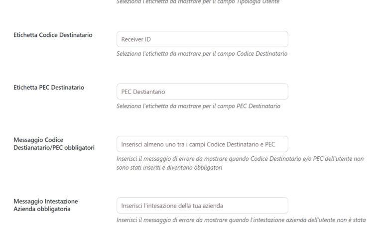 Electronic invoicing for Italian customers (fatturazione elettronica) – 4/4