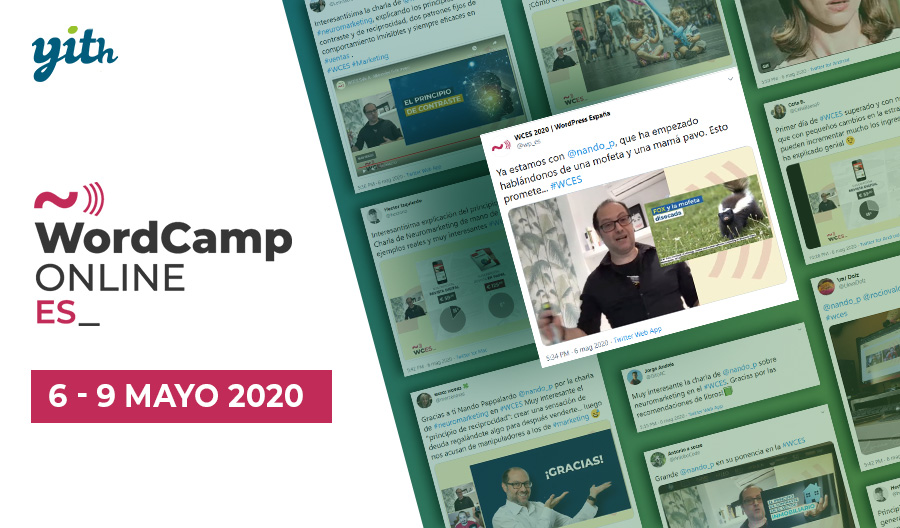 WordCamp España online 2020 – a real and virtual experience!