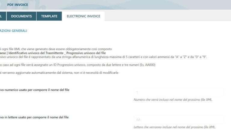 Electronic invoicing for Italian customers (fatturazione elettronica) – 1/4