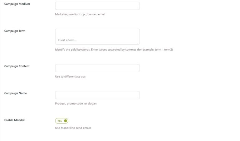 Email setting (2/2)