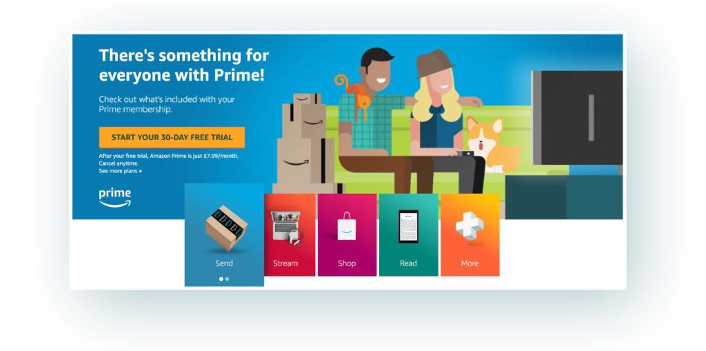 Amazon Prime membership example