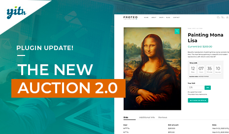 Version 2.0 of our Auction plugin for WooCommerce will make your jaw drop