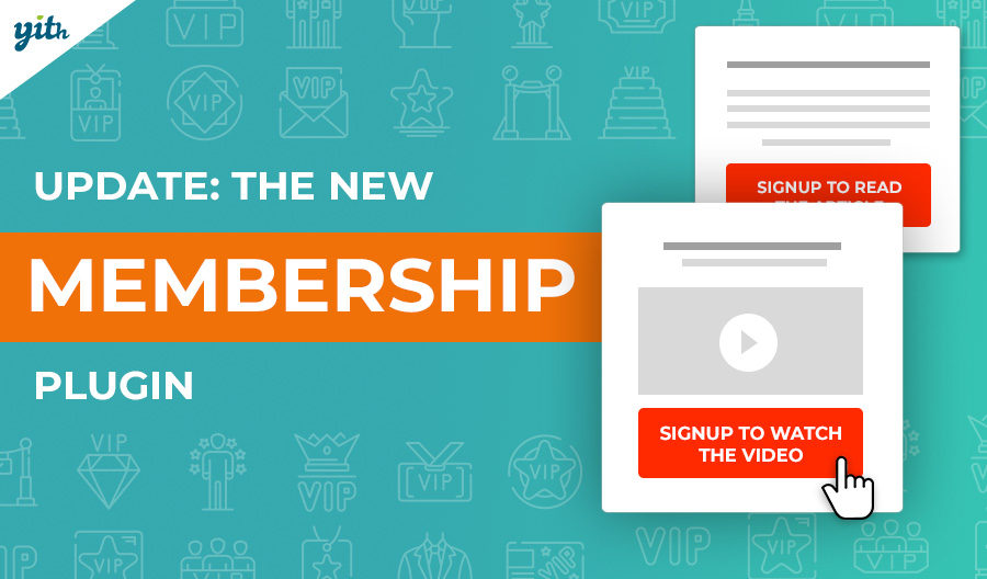 Membership 1.4: new features to create reserved-access areas for your site members.
