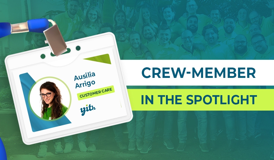 Crew member Highlight; Ausilia, the always cheerful soul of customer care