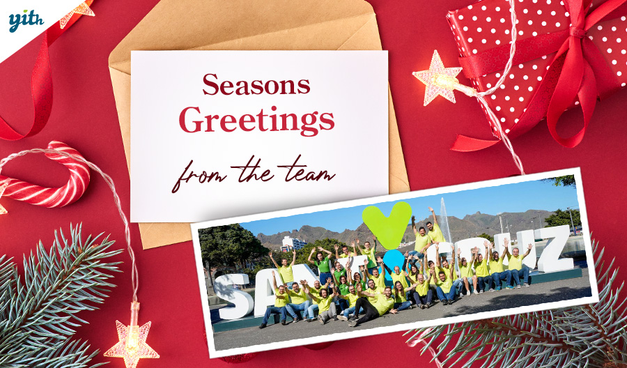 Seasons Greetings from the team to our friends and customers