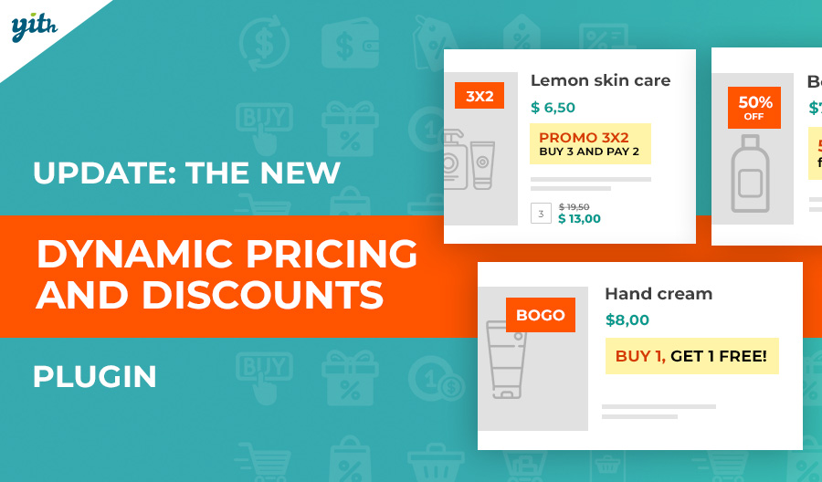 YITH WooCommerce Dynamic Pricing and Discount 2.0: a new interface to set up advanced promotions and discounts with just a few clicks.
