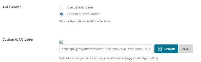 Ajax loader