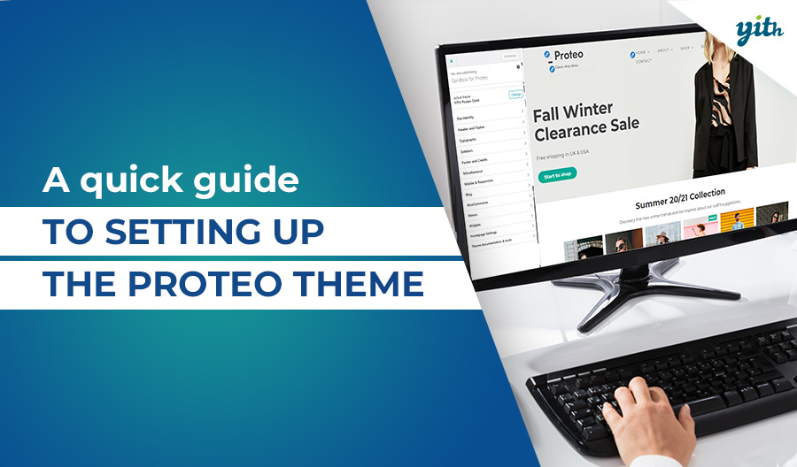 A quick guide to setting up the Proteo theme