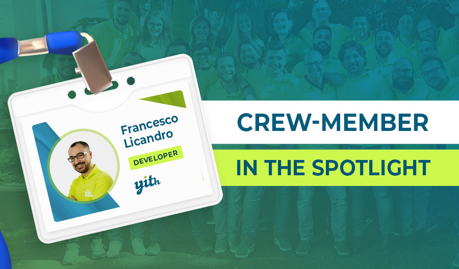 Crew member Highlight; Meet Francesco, who thrives on tackling a challenge or two
