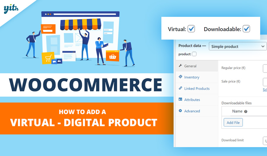 WooCommerce: How to add a virtual – digital product