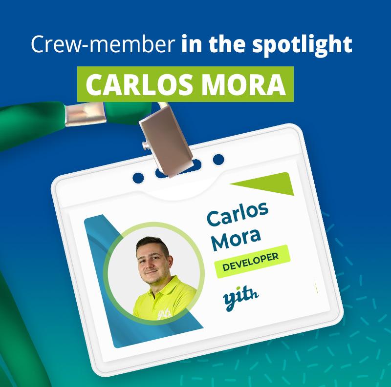 Crew member - Carlos Mora