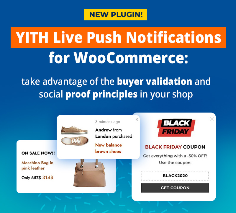 New plugin: YITH Live Push Notifications for WooCommerce