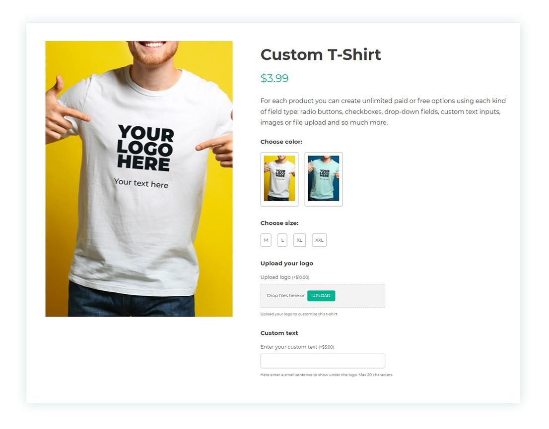 Final result - Custom T-shirt