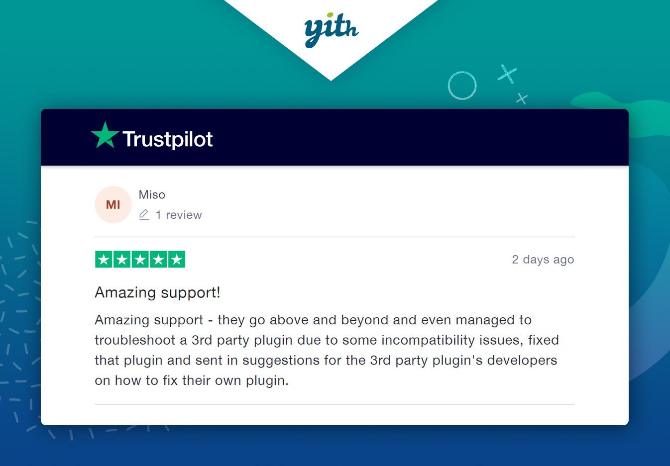 Good comment on Truspilot