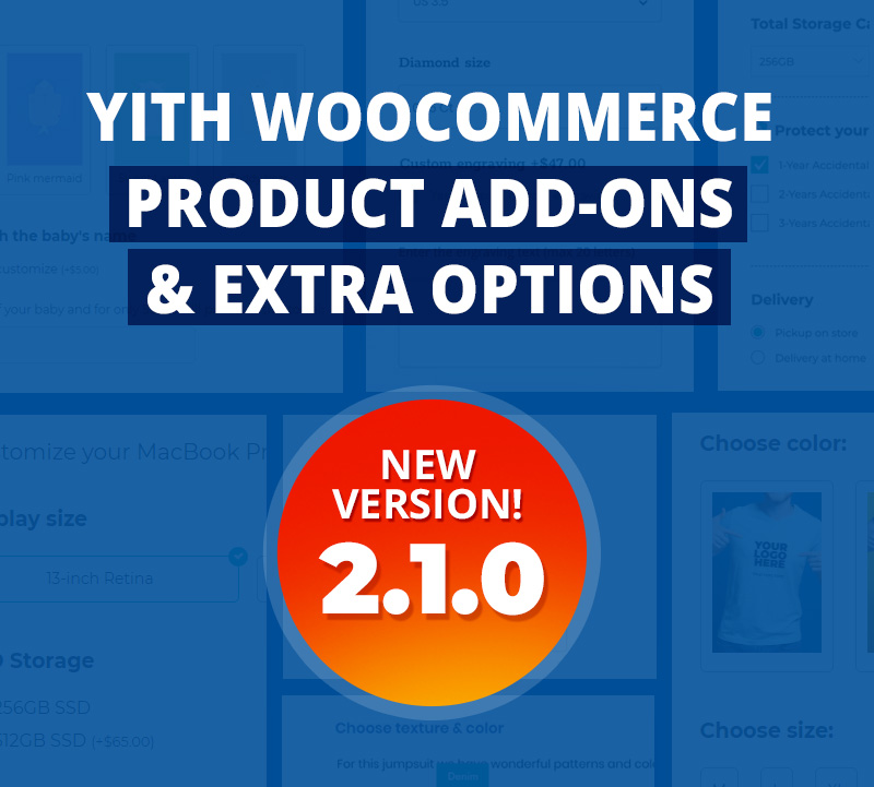 product add-ons new version